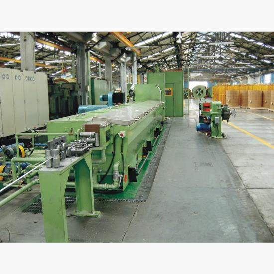 al/alloy wire drawing machine