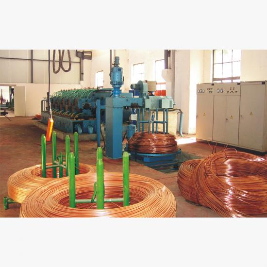 Copper Rod Rolling Machine